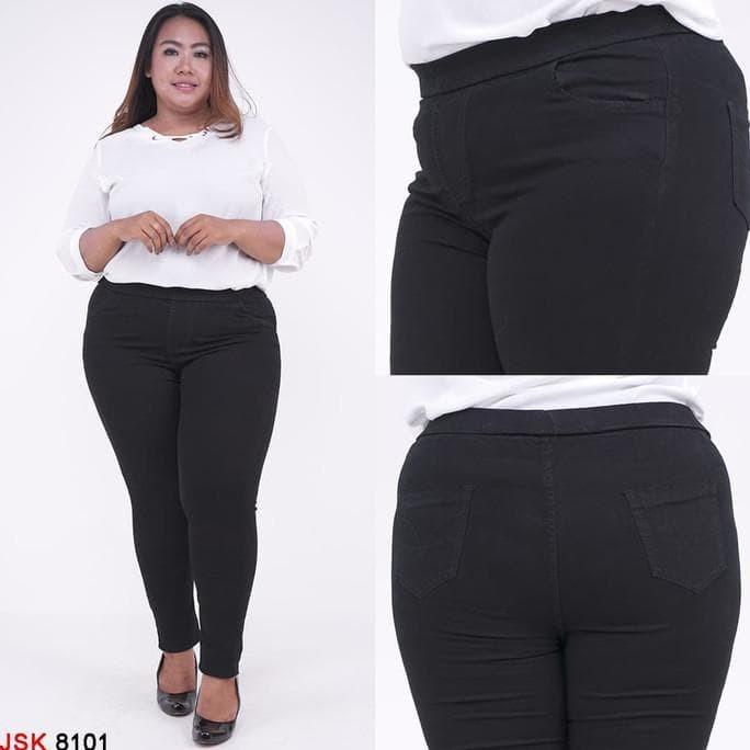 Jual Hot Produk Jumbo Size 35 38 Celana Legging Pinggang Karet Skinny Jakarta Barat Jeanswanitamodern Tokopedia