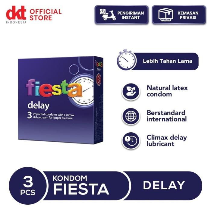 Foto Produk Kondom Fiesta Delay - 3 Pcs dari DKT Indonesia
