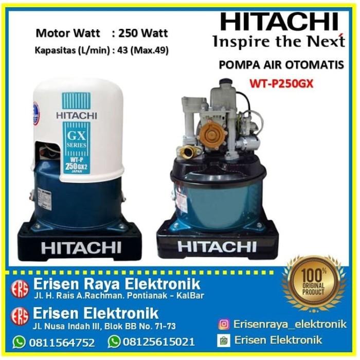Jual Pompa Air Merk Hitachi Wtp 250 Gx Kota Pontianak Erisen Elektronik Tokopedia