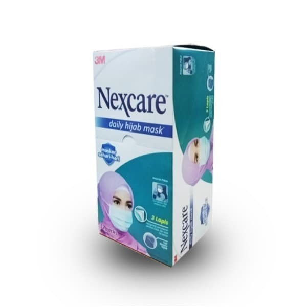 Foto Produk Nexcare daily hijab mask - harga per box isi 12packs@3pcs dari lancarpharmindo