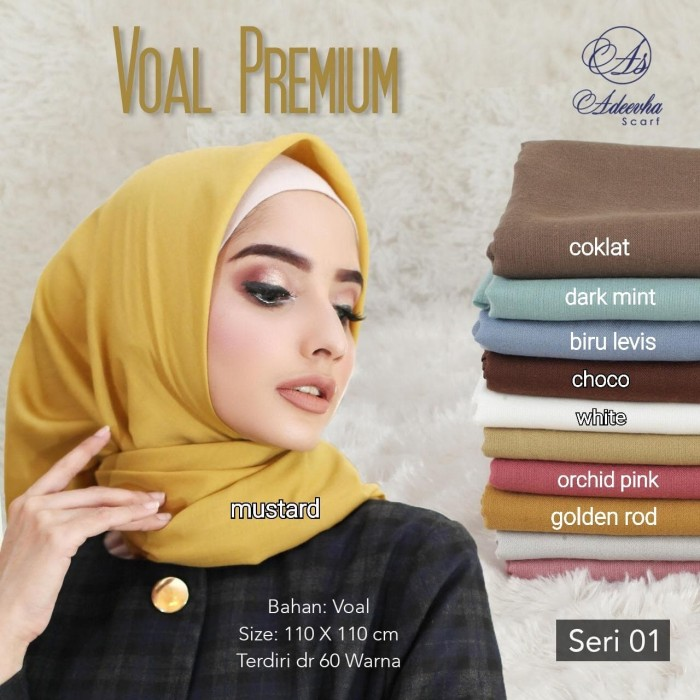 Jual Jilbab Segi Empat Voal Premium Polos Jahit Tepi By Adeevha Scarf Jakarta Barat Pusat Aneka Grosir Tokopedia