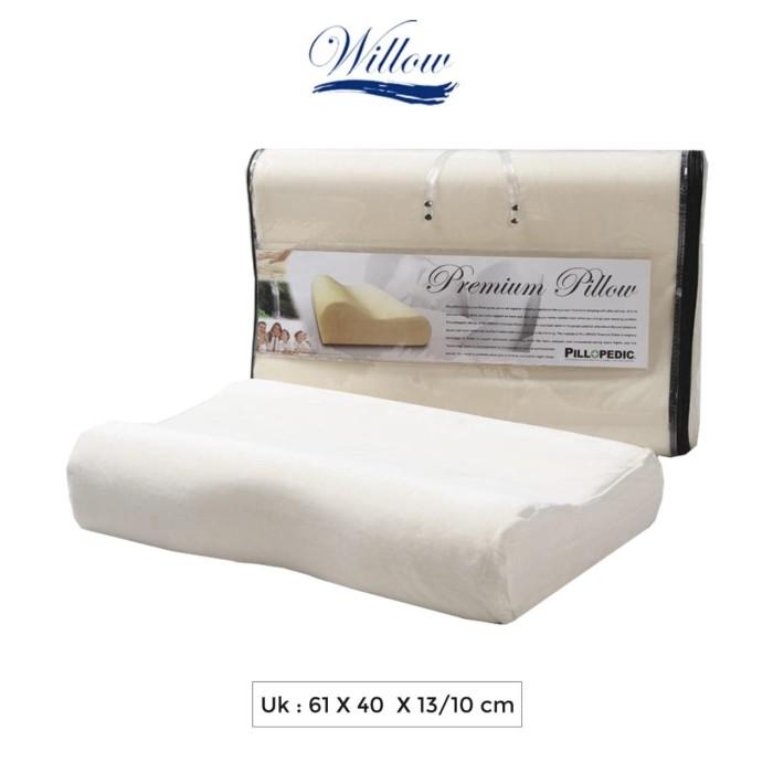 Foto Produk Bantal Memory Foam Ergonomic Jumbo / Willow Pillopedic Premium dari Willow Pillow