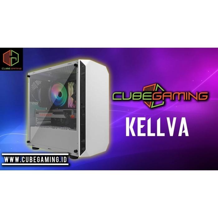 Jual Cube Gaming Kellva Black White Casing Pc Jakarta Pusat Tonix Computer Tokopedia