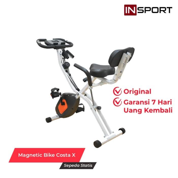 Foto Produk Alat Fitness Magnetic Bike Insport Costa X Sepeda Fitness dari INSPORT'S