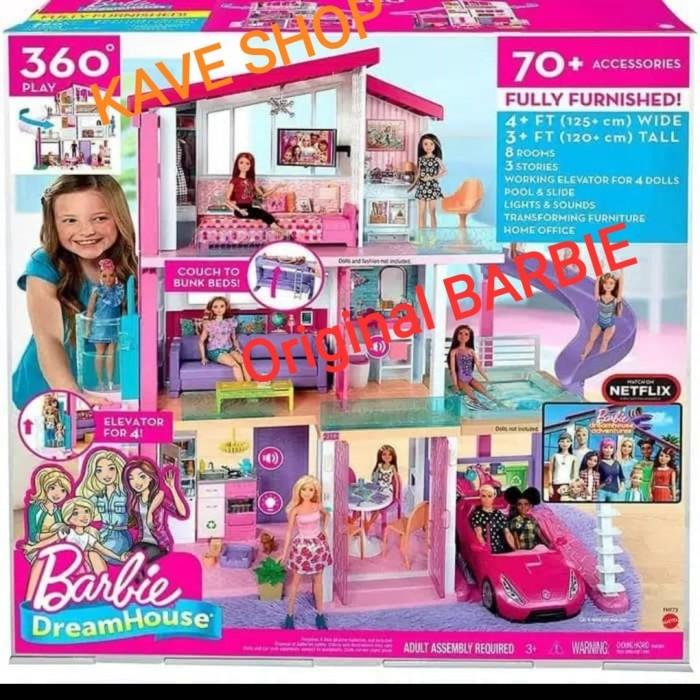 Jual Barbie Dream House Mattel Original Jakarta Utara Kave Shop Tokopedia