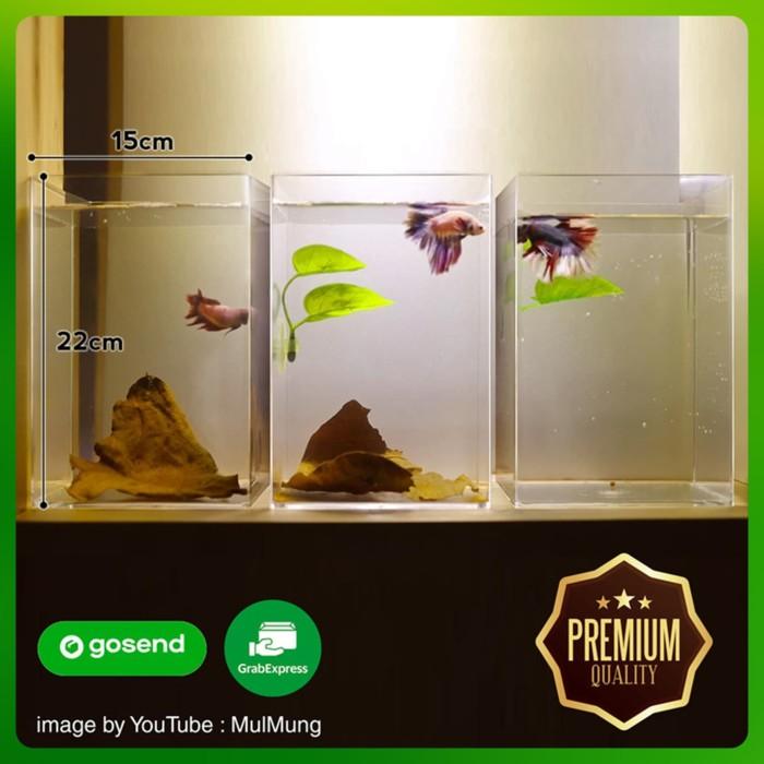 Jual Aquarium Akrilik Aquarium Ikan Cupang Jakarta Barat Kerocker Tokopedia