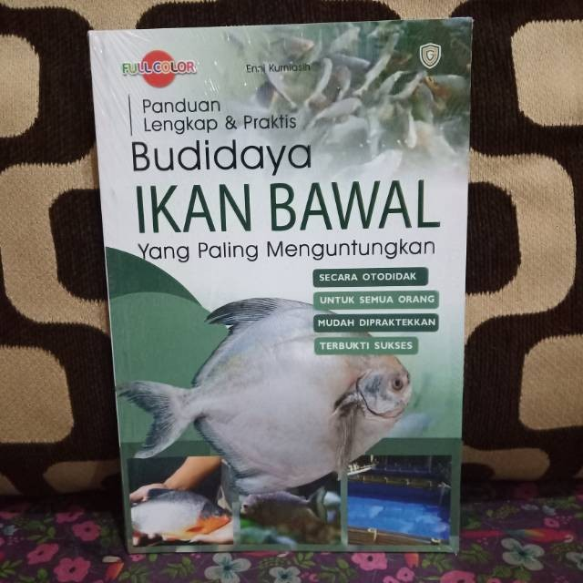 Jual Panduan Lengkap Praktis Budidaya Ikan Bawal Yang Paling Kota Surabaya Zaynmalikjtstore Tokopedia