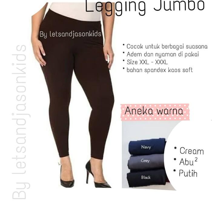 Jual Legging Dewasa Jumbo Ukuran Xxl Xxxl Celana Legging Wanita Polos Putih Jakarta Utara Letsgo Fashion Bags Tokopedia