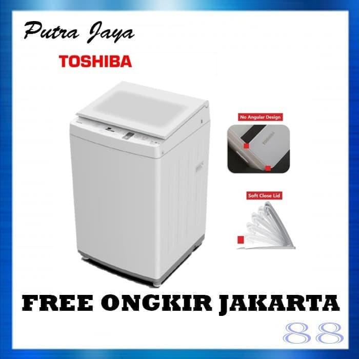 Foto Produk Mesin Cuci 1 Tabung 7Kg Toshiba AW-J800AN AWJ800AN dari Putra Jaya 88