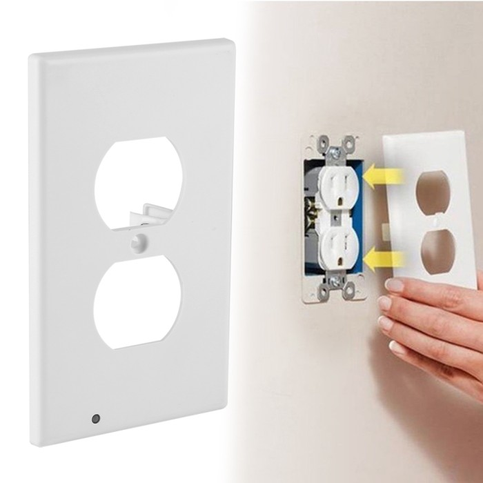 Jual Plug Cover Led Night Light Wall Outlet Plate Hallway Lamp Kota Semarang Bumipertiwishop Tokopedia