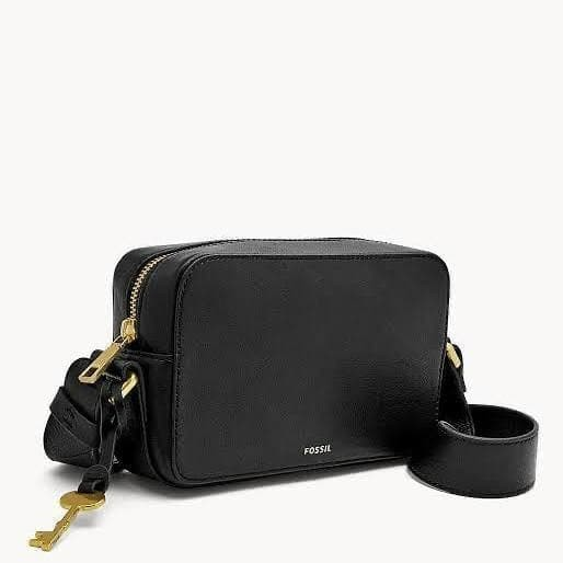 Foto Produk Fossil Billy Small Crossbody Leather Black dari Laristie