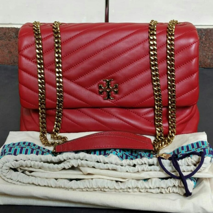 Foto Produk Tb kira cevron Conv Shoulder Red Apple dari Laristie