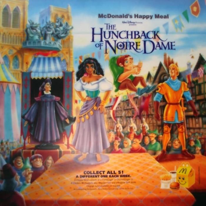 Jual Mcd Hunchback Of Notre Dame 1996 Complete Set Of 5 Nip 1 Loose Kota Surabaya Bits And Pieces Tokopedia