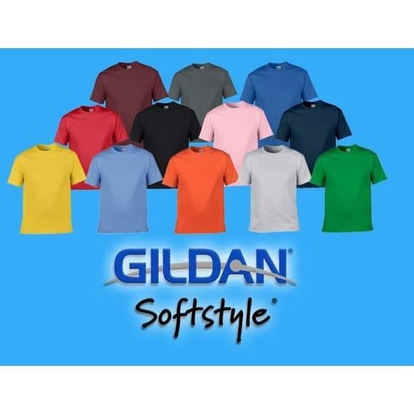 Foto Produk KAOS POLOS GILDAN 63000 SOFTSTYLE XXL dari Clothing-Jakarta