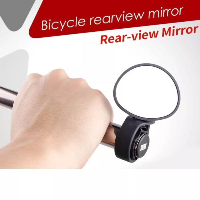 Foto Produk BICYCLE REFLECTOR MIRROR-KACA SPION SEPEDA ADJUSTABLE AKSESORIS SEPEDA dari Bro & Sis Jakarta