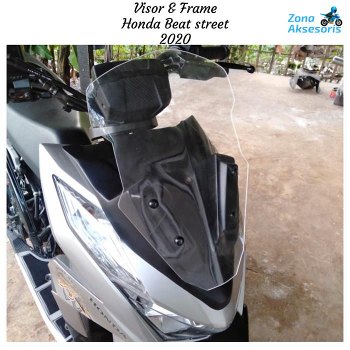 Jual Visor Beat Street 2020 Visor Dan Frame Honda Beat 2020 Kota Bandung Zona Pria Bandung Tokopedia