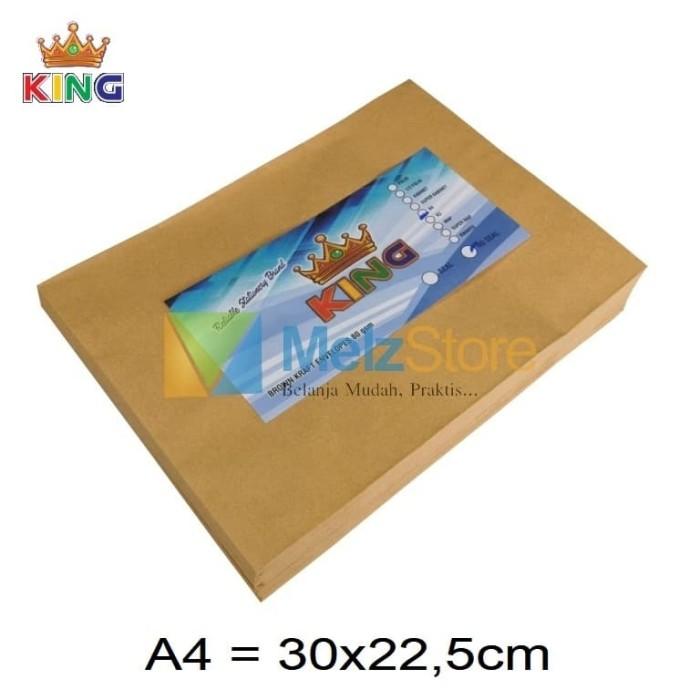 Foto Produk A4 Amplop Coklat 80gsm dari MelzCorp