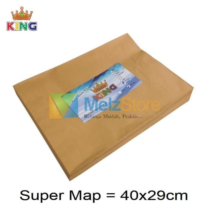 Foto Produk Super Map Amplop Coklat 80gsm dari MelzCorp