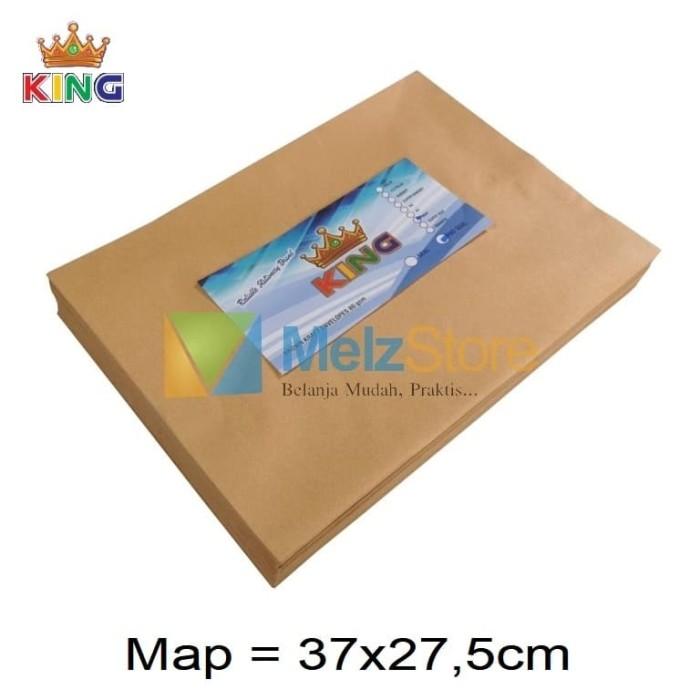 Foto Produk Map Amplop Coklat 80gsm dari MelzCorp