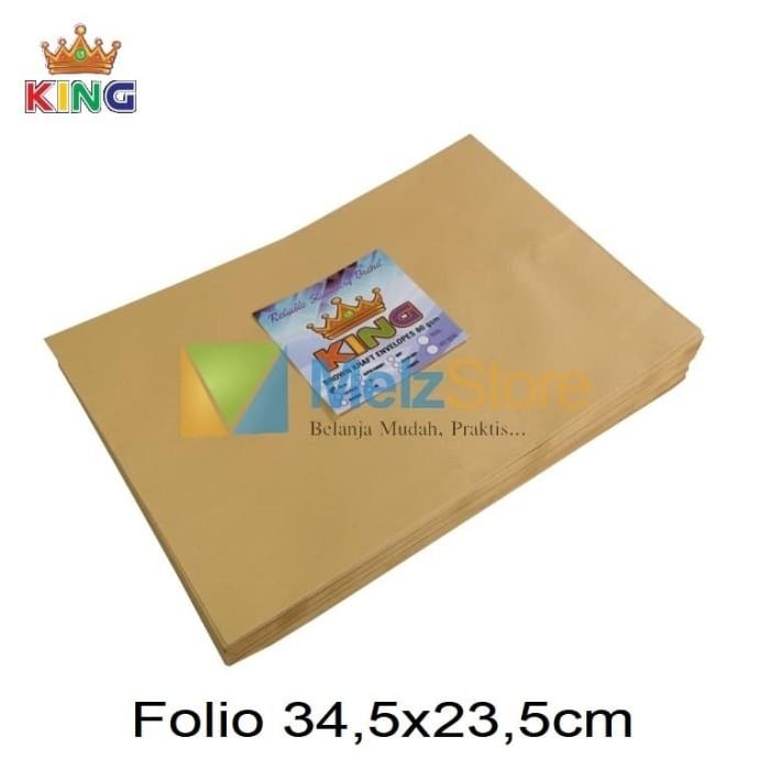 Foto Produk Folio Amplop Coklat 80gsm dari MelzCorp
