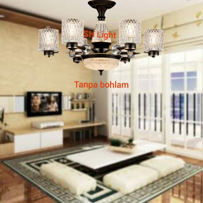 Jual Lampu Gantung Minimalis Modern Ruang Tamu Ruang Keluarga Tipe 8245 6 Jakarta Pusat Shine Lighting Tokopedia