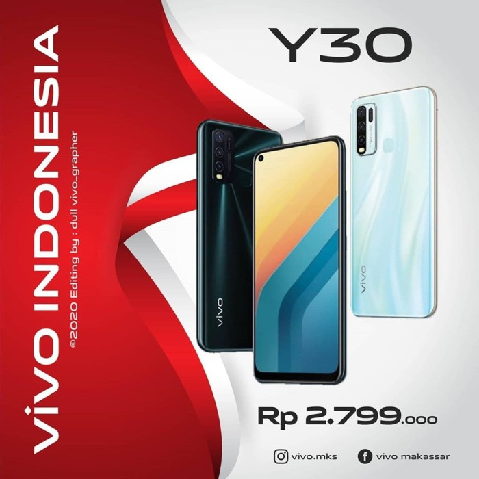 Jual Vivo Y30 Rajaponselindonesia Kab Musi Banyuasin Rajaponselindonesia Tokopedia