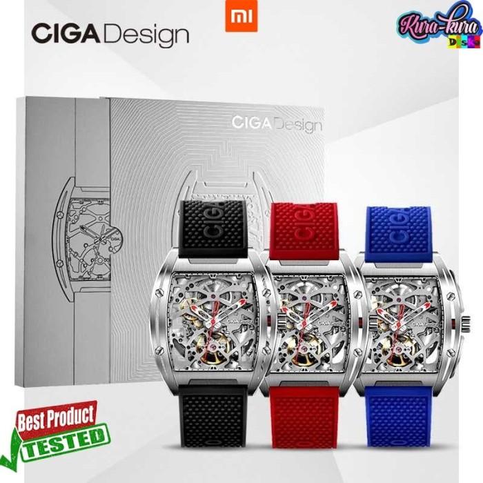 Foto Produk Xiaomi CIGA Z Series Jam Tangan Mechanical Watch Model Double Sided dari kura kura disko