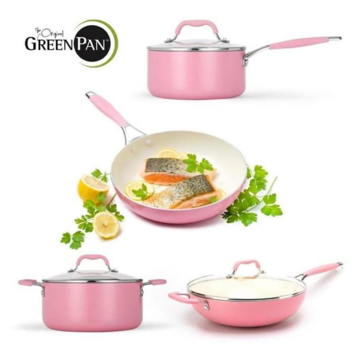 Foto Produk GREENPAN York Pink Cream White Sets 4 pcs dari UTAMA_ELECTRONIC