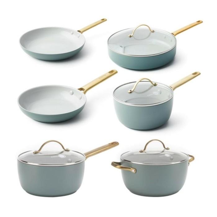Foto Produk GREENPAN Panci Ceramic Non-Stick 10-Piece Cookware Set - PADOVA dari UTAMA_ELECTRONIC