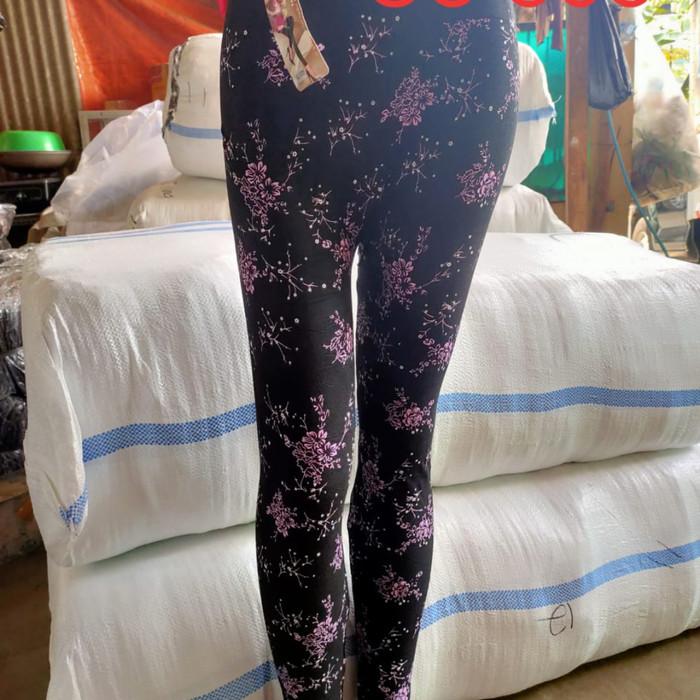 Jual Celana Legging Dewasa Motif Bunga Cherry Blossom Jakarta Barat Purnamafamily Tokopedia