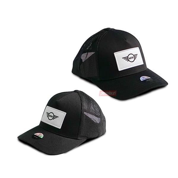 Foto Produk MINI Trucker Cap Black Original | Topi Baseball MINI Ori dari PERMAISURI