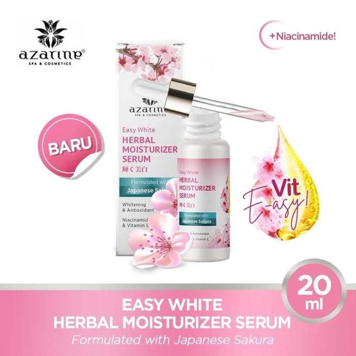 Jual AZARINE EASY WHITE HERBAL MOISTURIZER SERUM 20 ml - Kab. Sidoarjo - Azarine Cosmetics | Tokopedia