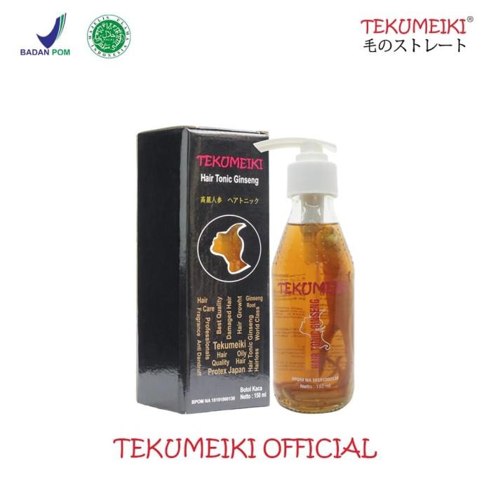Foto Produk Tekumeiki Hair Tonic Ginseng Special Botol Cair Baru dari Tekumeiki Official
