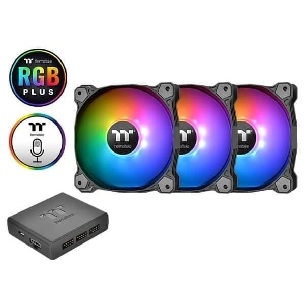 Foto Produk Thermaltake Pure Plus 12 RGB - 3in1 12CM Fan dari toko expert komputer
