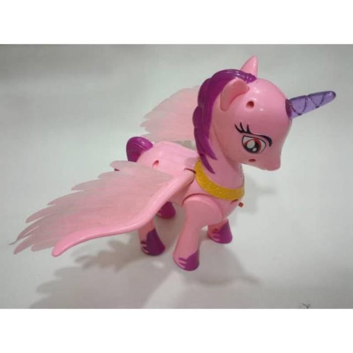 Jual Mainan Unicorn Kuda Pony Sayap Menyala Pretty Horse Baterai Kota Tangerang Bengbengtoys Tokopedia