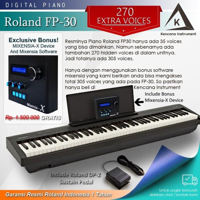 Jual Digital Piano Roland Fp30 Bundle Hardware Mixensia X Fp 30 Kota Bekasi Kencana Instrument Tokopedia