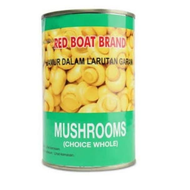 Foto Produk Jamur Dalam Larutan Garam Red Boat Brand Champignons 425 gr dari Glory Sembako