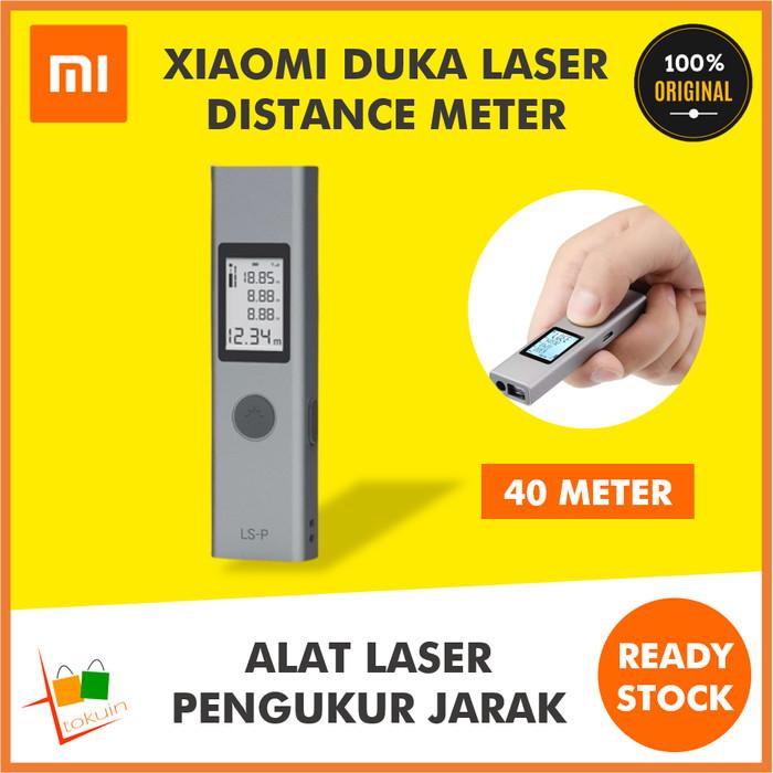 Foto Produk Xiaomi Duka Laser Distance Meter LS-P 40M Meteran Digital Ukur Jarak dari Tokuin Semarang