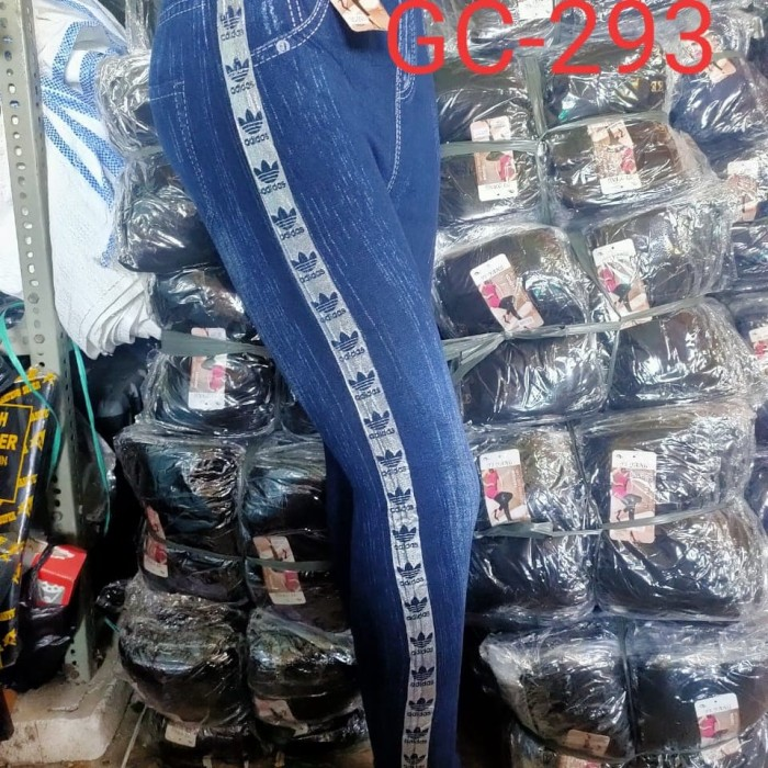 Jual Celana Legging Dewasa Atau Remaja Motif Adidas Jakarta Barat Purnamafamily Tokopedia
