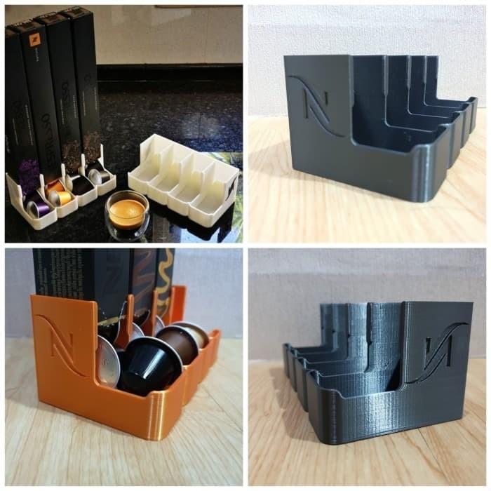 Foto Produk tempat kopi nespresso dispenser capsule holder 4 bay slot dari Bro & Sis Jakarta
