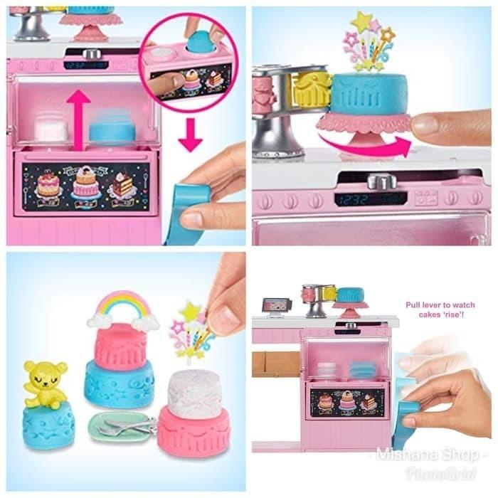 Jual Boneka Barbie Mattel Cake Decorating Doll Pembuat Kue Bakery Playset Jakarta Pusat Jeareshop Tokopedia