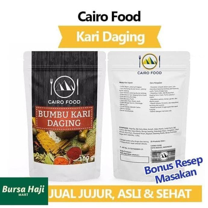 Jual Jual Bumbu Kari Daging Tanpa Msg 100gr Cairo Food Instan Masakan Arab Jakarta Barat Makananinstan55 Tokopedia