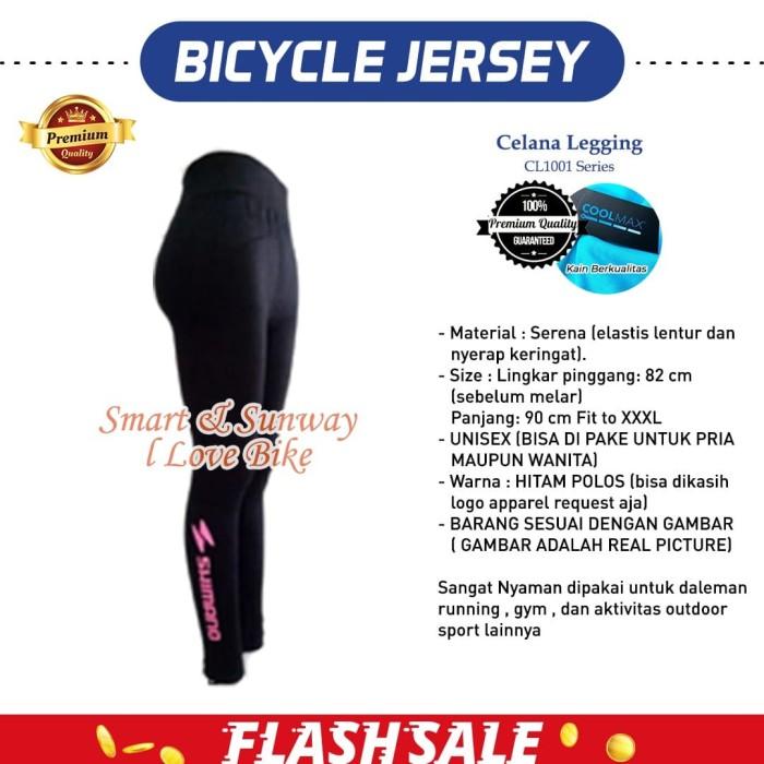 Jual H191 Celana Legging Sepeda Jersey Ada Busa Bokong Jakarta Barat Sunway I Love Bike Tokopedia