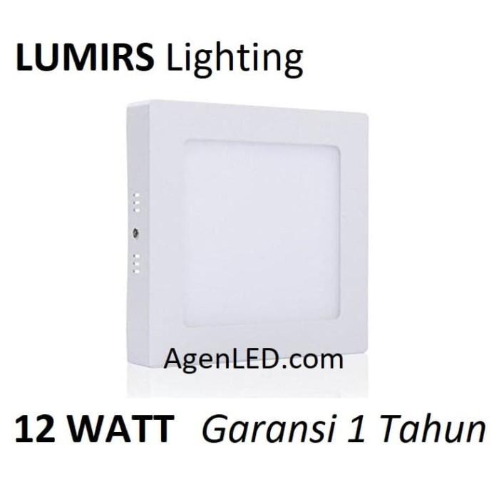 Foto Produk LUMIRS Lampu OUTBOW 12W LED Panel Kotak Putih 12 W Watt DOWNLIGHT OB X dari AgenLED
