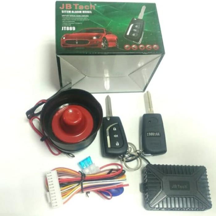 Hasil gambar untuk Alarm Mobil JBTech JB889