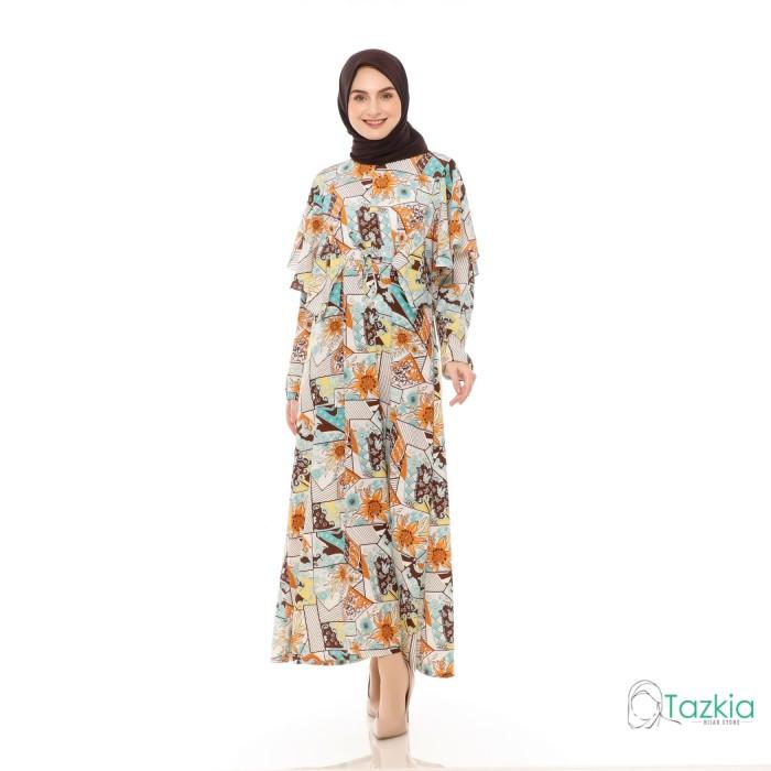Foto Produk Dress Muslim Wanita | Hilya Bata| Gamis Monalisa Original dari Tazkia Hijab Store