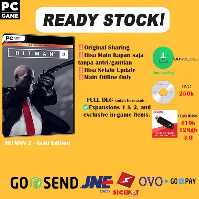 hitman 2 gold edition pc key