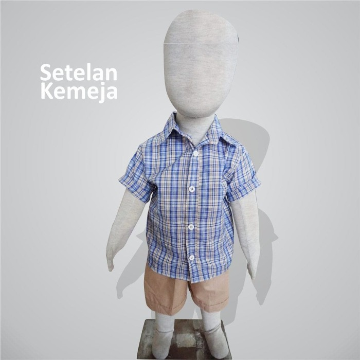 Foto Produk Setelan Kemeja Anak Cowok | Setelan Anak | Setelan Baby | LOUIS SET - Motif A dari B_BabyStore