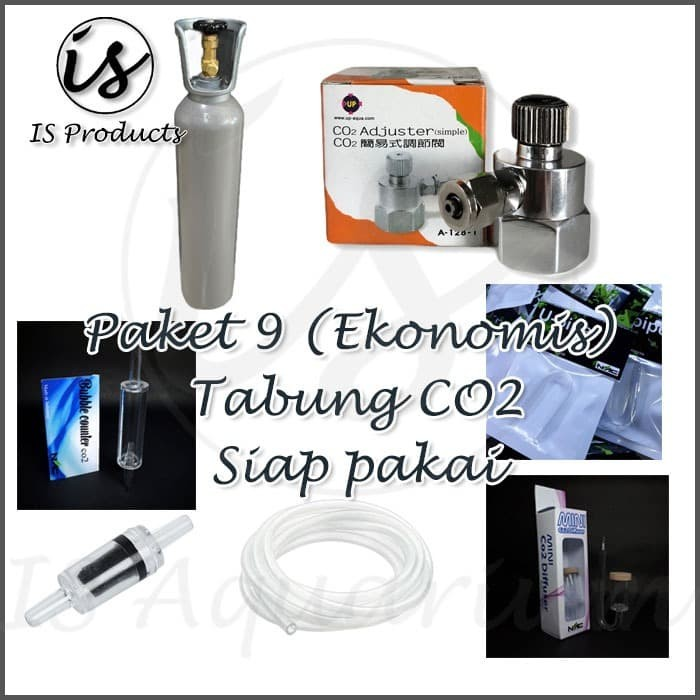 Jual Paket 9 Tabung Co2 Besi 5kg Besi Full Isi Aquascape Co2 Supplies Jakarta Barat Is Aquarium Tokopedia