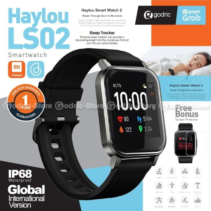 Foto Produk XIAOMI HAYLOU Smart Watch 2 LS02 GARANSI Smartwatch Global Version dari Godric Store